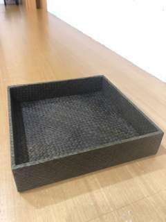 🚚 竹編置物盒