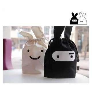 🚚 Rabbit Draw-string Pouch/Bag