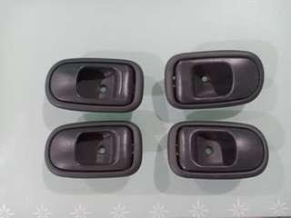 Toyota Avanza Inner Door Handle Relist - Black Colour
