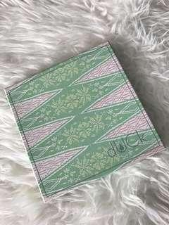 dUck eid songket in Green
