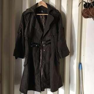 🚚 復古 風衣 外套