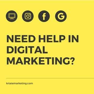 Freelance digital marketing services