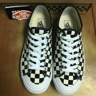 🚚 [US 8.5] VANS 開口笑 棋盤格 黑白 日版 滑板 二手 era old skool authentic