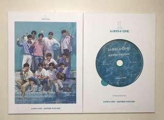 Wanna One Summer Package DVD