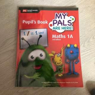 Primary 1 Maths Pupil's Book