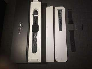 Apple Watch series 3 NIKE GPS 38mm
