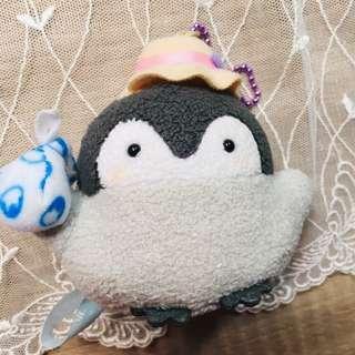 🚚 *日本購入二手近全新*正能量企鵝吊飾玩偶