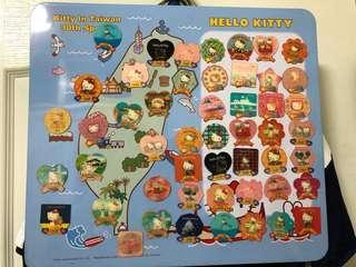 Hello Kitty 凱蒂貓30週年紀念磁鐵組 臺灣特別版