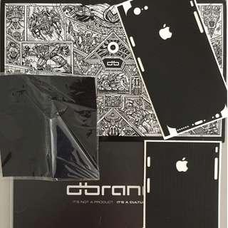 dbrand Black Matrix Back Skin for iPhone 6