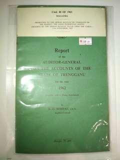 Report of the auditor-general cmd.40 of 1963