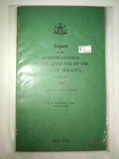 Report of the auditor-general