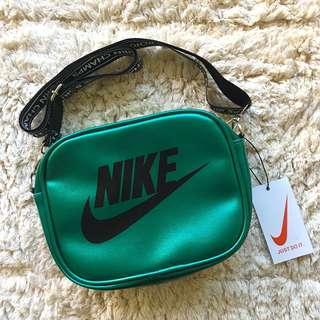🚚 Nike 兩用2ways 皮革休閒外出背包