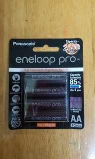 Panasonic Eneloop Pro 2550mah(2A)充電池