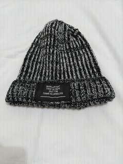 🚚 韓版黑白針織毛帽
