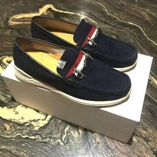 Visvim Americana Deck Folk Navy - US10 - Worn Once