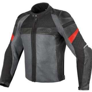 Dainese Air Frazer Mesh Leather Riding Jacket