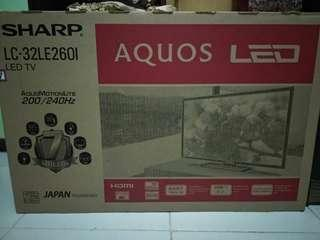 LED Sharp Aquos LC-32LE260I Baru