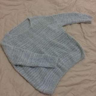🚚 全新 超級柔軟兔毛質感毛衣