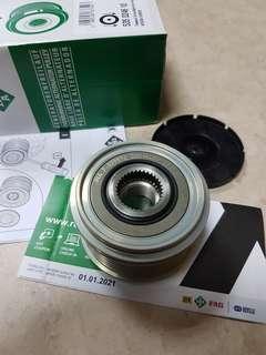 alternator bearing pulley inspira lancer