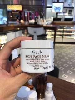 fresh rose mask 100ml