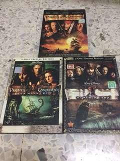 Pirates of the Caribbean DVD Set #xmas25