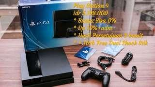 Play Station 4 | Resmi Sony | Free 2 Game