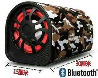 Car Bluetooth Remote Control Subwoofer Hifi Bass Power Amplifier Speaker 12V/24V 220V USB Compatible Smartphone