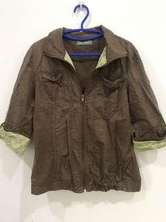 Girl Jacket brown