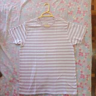 Pink Striped Shirt Unisex