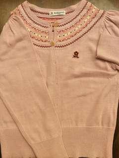 🚚 Montagut 130女童針織小外套