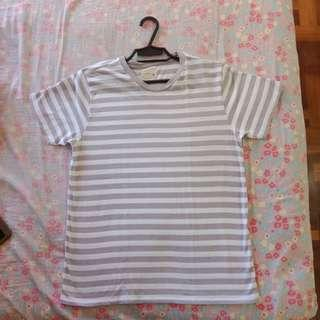 Gray Striped Shirt (Unisex)