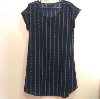 [NEW] EDGE Casual Dress Black