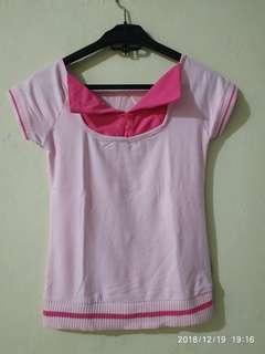 Atasan pink anak perempuan