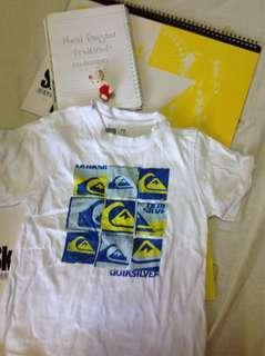 Combo 22 - Quicksilver & Adidas shirt