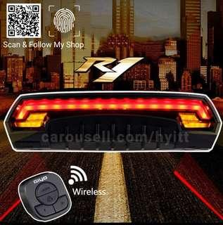🚚 Giyo Bicycle Rear light with turn signal laser light