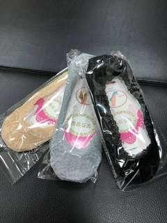 🚚 蕾絲隱形襪(黑,膚,灰)任選10雙