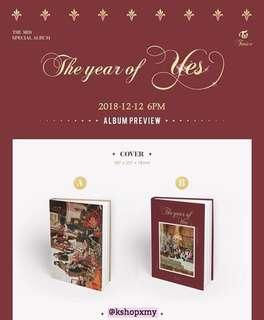 Twice 3rd Special Album - ' The Year Of Yes '