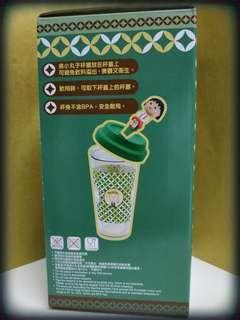 7仔 (末開盒)花輪雙層咖啡杯