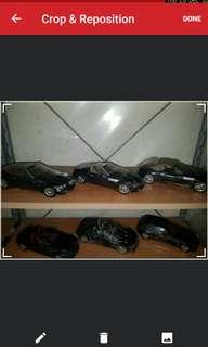 Complete Black series collection: 1/18 BMW Z3 roadster, coupe, M roadster, M coupe, Speedster, Etc