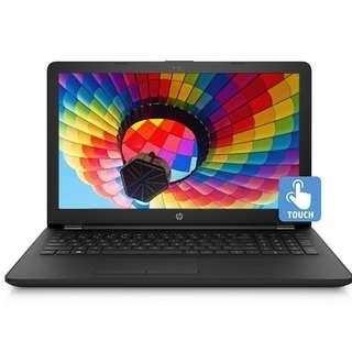 "NEW HP 15.6"" Touch 4GB 1TB HDD Intel Pentium 2.7GHz Vibrant Windows 10 Laptop"