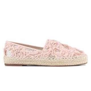 Vincci Peach lace shoes