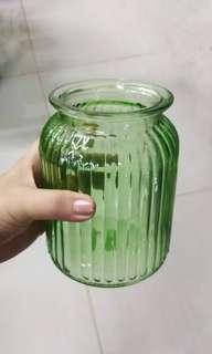 Colorful Glass Vase / Decorative Centerpiece Holder