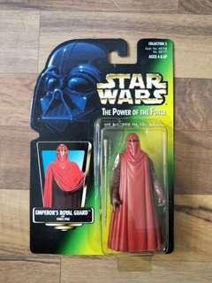 Star Wars POTF Green Card Combo B (ANY 3 for $19.80)
