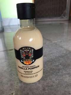 Shower Gel The Body Shop Vanilla Pumpkin