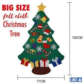 🚚 Felt cloth Christmas Tree