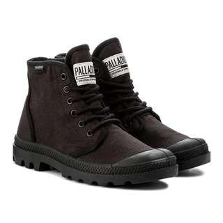 🚚 PALLADIUM PAMPA HI ORIGINALETC 黑 基本款帆布軍靴