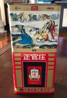 正官庄原支紅蔘 Red Ginseng Roots