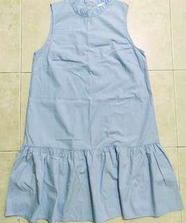 (BN) H&M blue dress