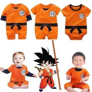 [Get Two @$38] Fashion Baby Dragon Ball Goku