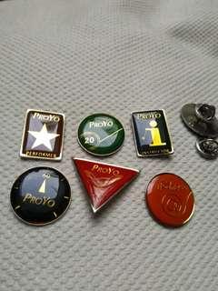 Classic Proyo-Toyzbar Pins